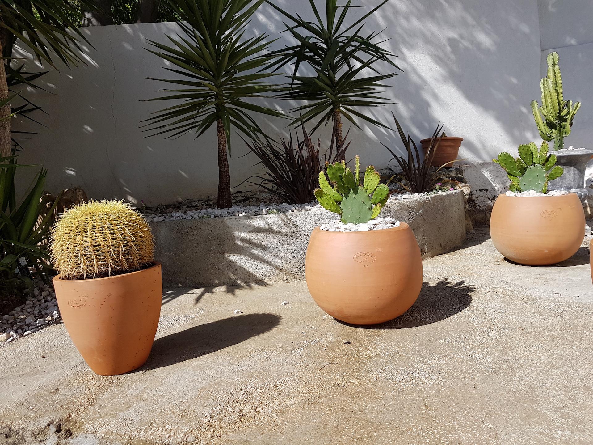 Aménagement Pots terre cuite ©PA