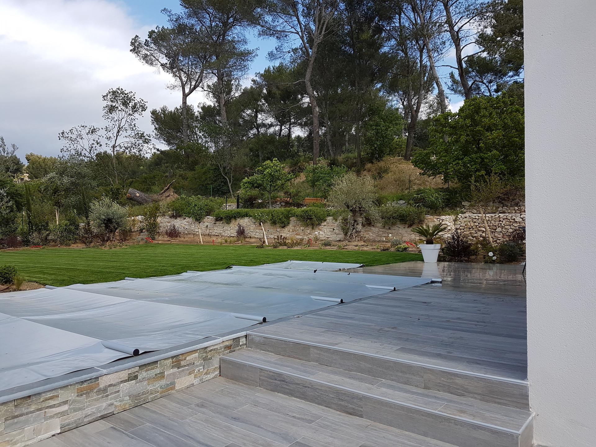 Création Jardin Maison Neuve - Gémenos ©PA