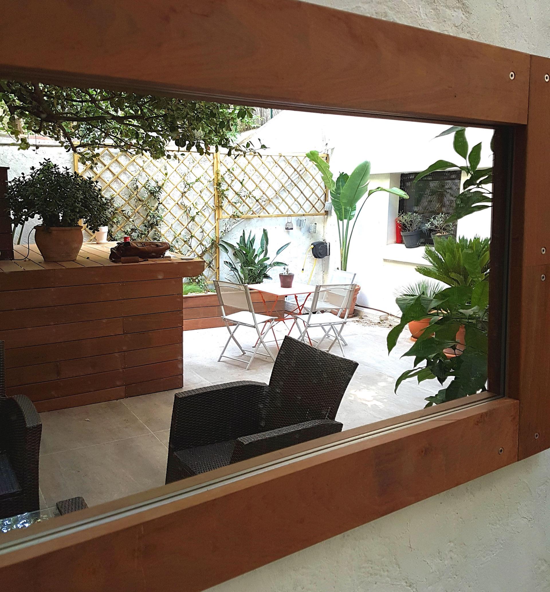 Aménagement complet Cour intérieure - Marseille Longchamp ©PA